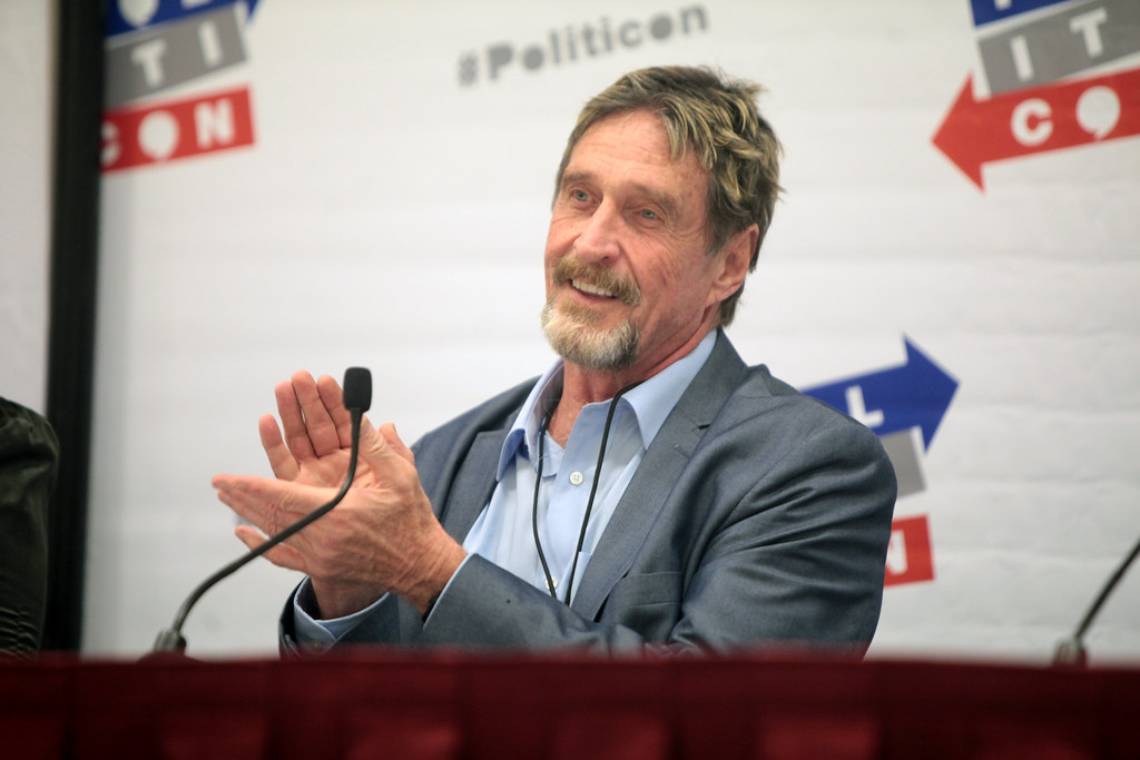 Antivirus Software Pioneer John McAfee Charged In Cryptocurrency Fraud Schemes